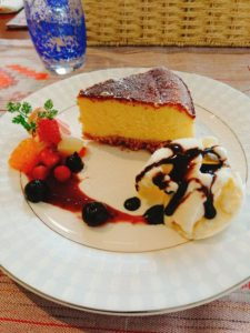 カフェミラクのデザート